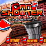 iPhone Games: Throw cans into the Trash box