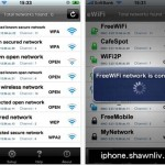 Scan surrounding Free & Secured WiFi for iPhones
