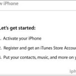 How to activate Your iPhone