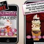 Make your own Sundaes in Your Iphone Now !