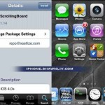 How to Add Scrolling Board on Iphone OS4