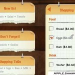 Create To DO Shopping List for iPhone & iPad