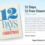 iTune Apple 12 Days Christmas Gift for You