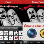 Shot your Fingers Face with iPhone